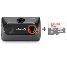 "Wideorejestrator Mio MiVue 786 FullHD/2.7""/140 + 16GB"
