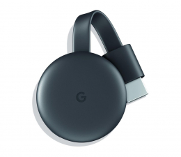Odtwarzacz multimedialny Google Chromecast 3.0 czarny OEM