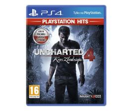 Gra na PlayStation 4 PlayStation UNCHARTED 4: KRES ZŁODZIEJA  - PS4 HITS