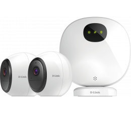 Inteligentna kamera D-Link DCS-2802KT‑EU FullHD IR (2szt. + stacja alarm)