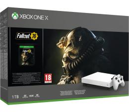 Konsola Xbox Microsoft Xbox One X 1TB +Fallout 76