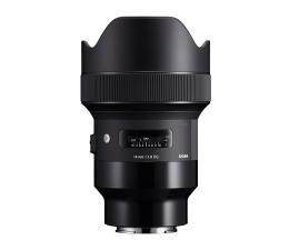 Obiektywy stałoogniskowy Sigma A 14mm f/1.8 DG HSM Sony E