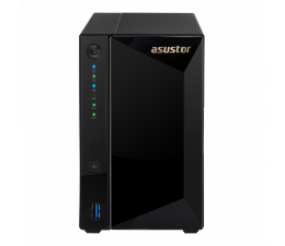 Dysk sieciowy NAS / macierz Asustor AS4002T (2xHDD, 2x1.6GHz, 2GB, 2xUSB, 3xLAN)
