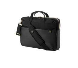 "Torba na laptopa HP Pavilion Accent Briefcase 15,6"" czarno-złota"