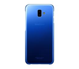 Etui/obudowa na smartfona Samsung Gradation cover do Galaxy J6+ niebieskie