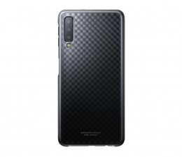 Etui/obudowa na smartfona Samsung Gradation cover do Galaxy A7 2018 czarne