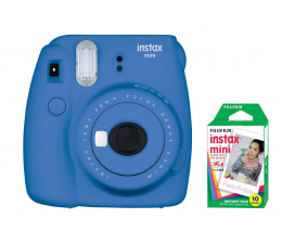 Aparat natychmiastowy Fujifilm Instax Mini 9 ciemno-niebieski + wkład 10 zdjęć