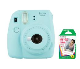 Aparat natychmiastowy Fujifilm Instax Mini 9 niebieski + wkład 10 zdjęć