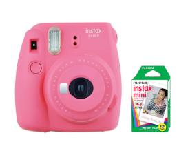 Aparat natychmiastowy Fujifilm Instax Mini 9 różowy + wkład 10 zdjęć