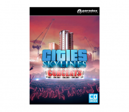 Gra na PC Paradox Interactive Cities: Skylines - Concerts ESD Steam