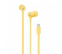 Słuchawki przewodowe Apple urBeats3 Lightning żółte