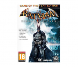 Gra na PC PC Batman: Arkham Asylum (GOTY) ESD Steam