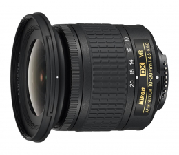 Obiektyw zmiennoogniskowy Nikon Nikkor AF-P DX 10-20 mm f/4.5-5.6G VR