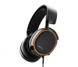 Słuchawki przewodowe SteelSeries Arctis 5 Czarne