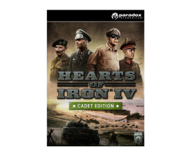Gra na PC Paradox Development Studio Hearts of Iron IV (Cadet Edition) Uncut ESD Steam