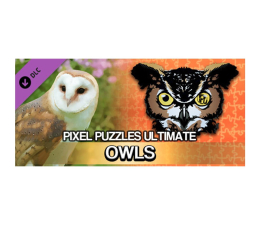 Gra na PC PC Pixel Puzzles Ultimat - Puzzle Pack: Owls ESD