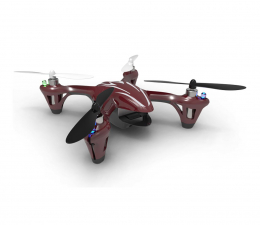 Dron Hubsan X4 CAM HD H107C czerwono-szary