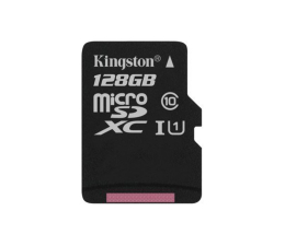 Karta pamięci microSD Kingston 128GB microSDXC Canvas Select 80MB/s C10 UHS-I