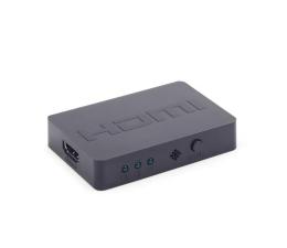 Przejściówka Gembird Przełącznik HDMI - HDMI (3 porty)