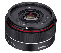 Obiektywy stałoogniskowy Samyang AF 35mm F2.8 Sony E