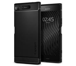 Etui/obudowa na smartfona Spigen Rugged Armor do Sony XPERIA XZ1 Black