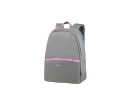 "Plecak na laptopa Samsonite Nefti 14.1"" szary/różowy"