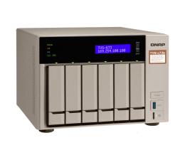 Dysk sieciowy NAS / macierz QNAP TVS-673e-4G(6xHDD, 4x2.1-3.4GHz, 4GB,4xUSB,4xLAN)