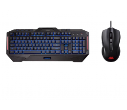 Zestaw klawiatura i mysz ASUS Cerberus Gaming Keyboard & Mouse Combo