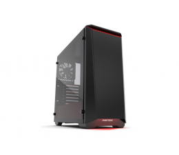 Obudowa do komputera Phanteks Eclipse P400S Tempered Glass (czarny/czerwony)