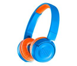 Słuchawki bezprzewodowe JBL JUNIOR JR300BT niebiesko-pomarańczowy