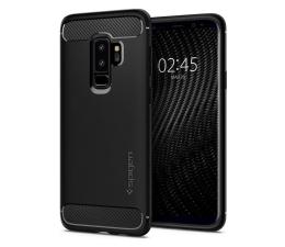 Etui/obudowa na smartfona Spigen Rugged Armor do Galaxy S9+ Matte Black