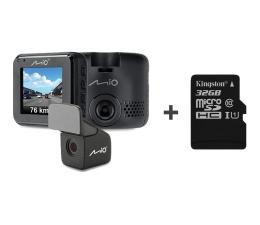 """Wideorejestrator Mio MiVue C380 FullHD/2""""/130/DUAL + 32GB"""