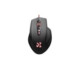 Myszka przewodowa Dream Machines DM2 Comfy (5000dpi, czarna)