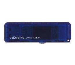 Pendrive (pamięć USB) ADATA 32GB DashDrive UV110 niebieski