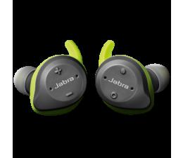 Słuchawki bezprzewodowe Jabra Elite Sport v2 szary/limonkowy