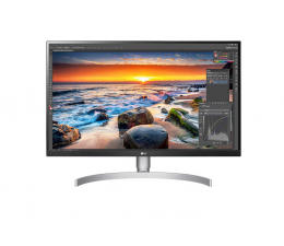 "Monitor LED 27"" LG 27UK850-W 4K HDR"