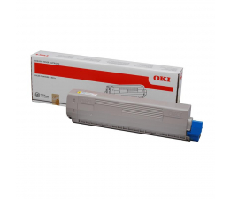Toner do drukarki OKI 46490605 Yellow 6000 str.