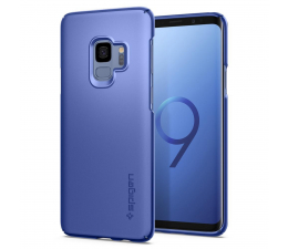 Etui/obudowa na smartfona Spigen Thin Fit do Galaxy S9 Coral Blue