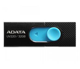 Pendrive (pamięć USB) ADATA 32GB UV220 czarno-niebieski