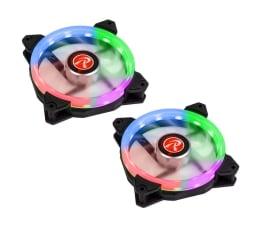 Wentylator do komputera Raijintek IRIS Rainbow 120mm RGB (2Pack)