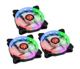 Wentylator do komputera Raijintek IRIS Rainbow 120mm RGB (3Pack)