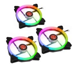 Wentylator do komputera Raijintek IRIS Rainbow 140mm RGB (3Pack)