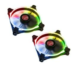 Wentylator do komputera Raijintek Macula 12 Rainbow LED RGB 120mm (2set)