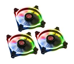 Wentylator do komputera Raijintek Macula 12 Rainbow LED RGB 120mm (3set)