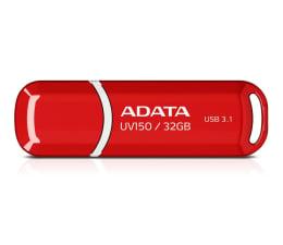 Pendrive (pamięć USB) ADATA 32GB DashDrive UV150 czerwony (USB 3.1)