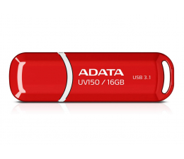 Pendrive (pamięć USB) ADATA 16GB DashDrive UV150 czerwony (USB 3.1)