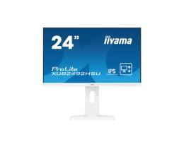 "Monitor LED 24"" iiyama XUB2492HSU biały"