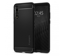 Etui/obudowa na smartfona Spigen Rugged Armor do Huawei P20 Pro Black