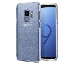 Etui/obudowa na smartfona Spigen Liquid Crystal do Galaxy S9 Glitter Crystal Quartz