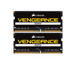 Pamięć RAM SODIMM DDR4 Corsair 16GB 2666MHz Vengeance CL18 1.2V (2x8GB)